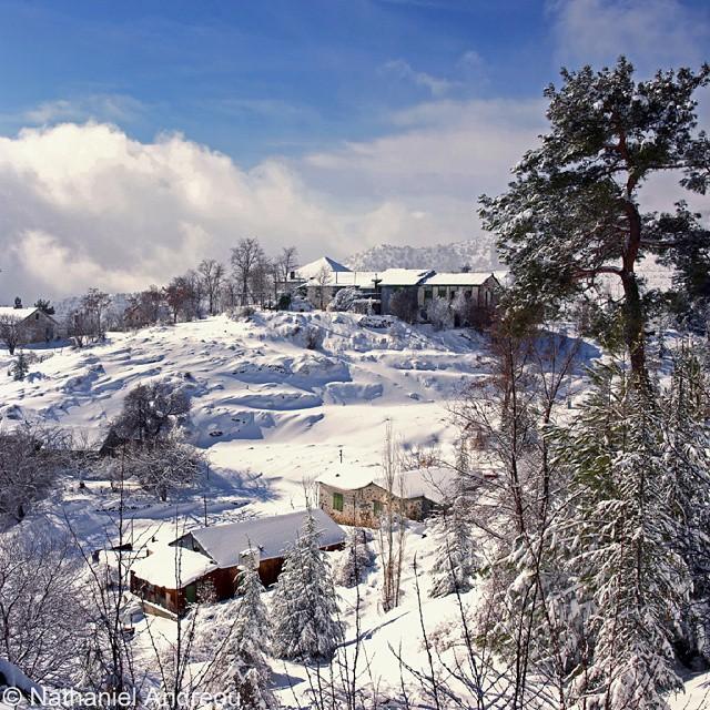 Ορεινά - Χιόνια στον Αμίαντο